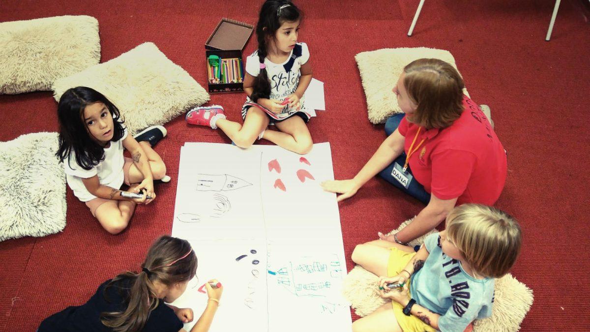 Atelier dezvoltare personala copii